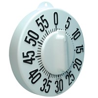 kitchen timer for hearing impaired banquettes sale maxiaids braille tactile timers long ring low vision white dial