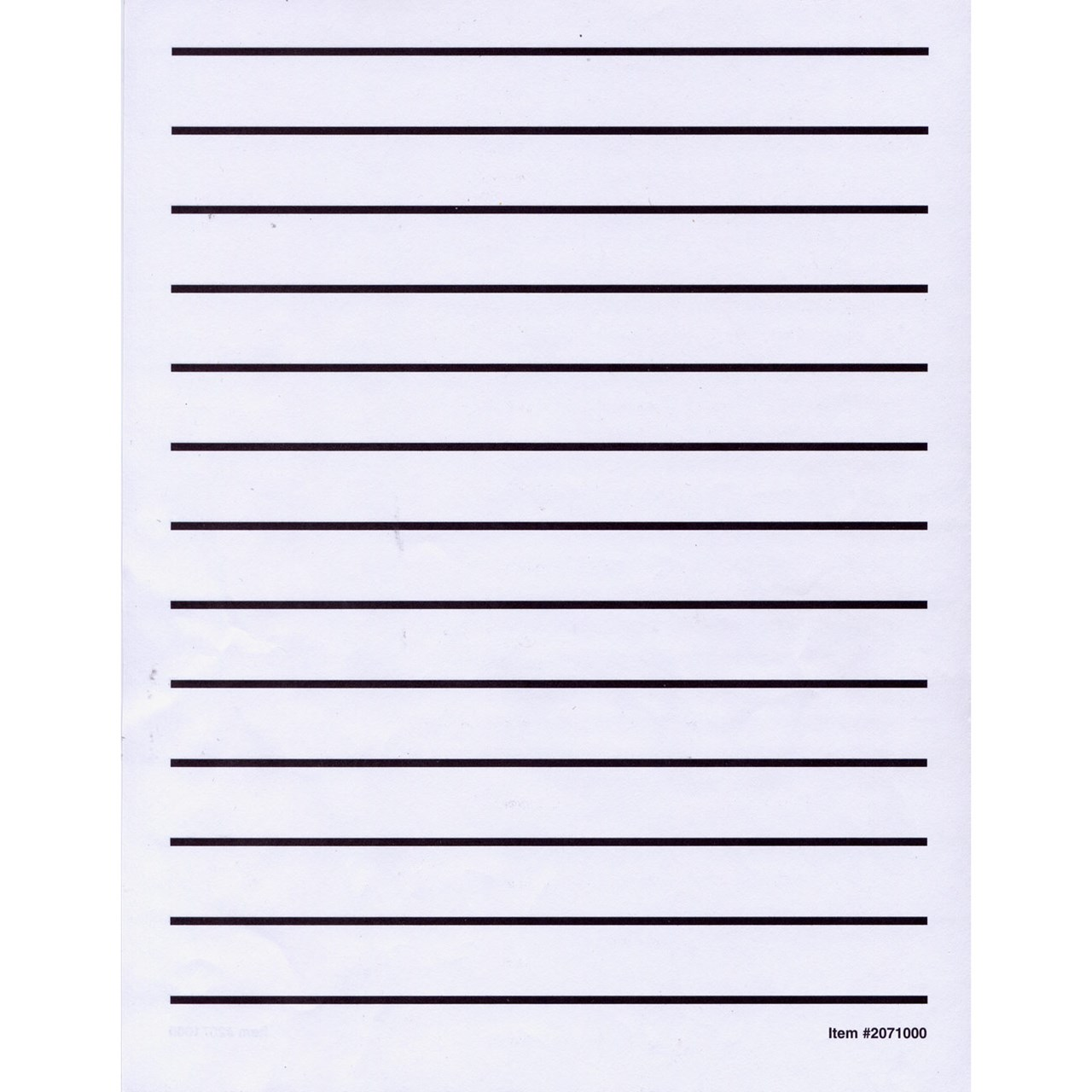 Maxiaids Low Vision Writing Paper