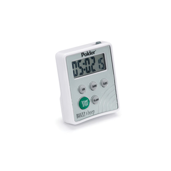 kitchen timer for hearing impaired sink grids maxiaids | polder buzz and beep digital vibrating