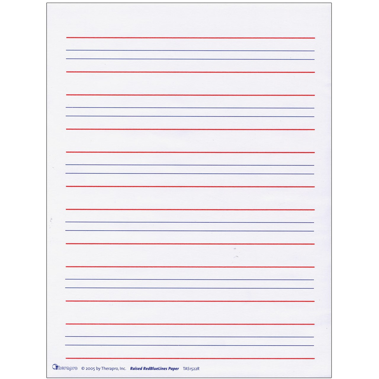 Maxiaids Raised Line Writing Paper