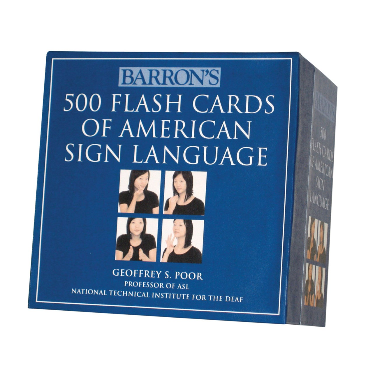 MaxiAids  500 Flash Cards of American Sign Language Boxed Set