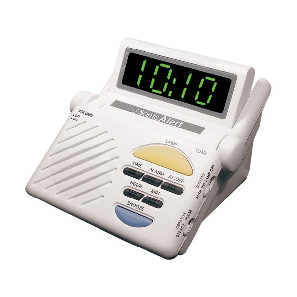 Maxiaids Sonic Alert Boom Alarm Clock
