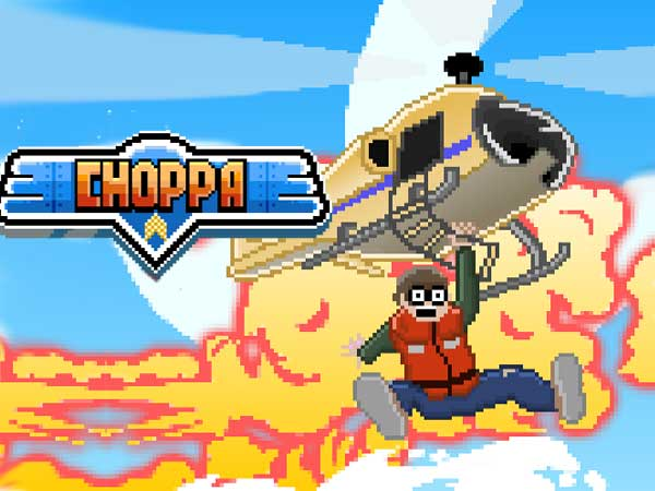 choppa jeu iphone ipad gratuit 1 - Choppa iPhone iPad - Meilleur Clone du Jeu Choplifter (gratuit)