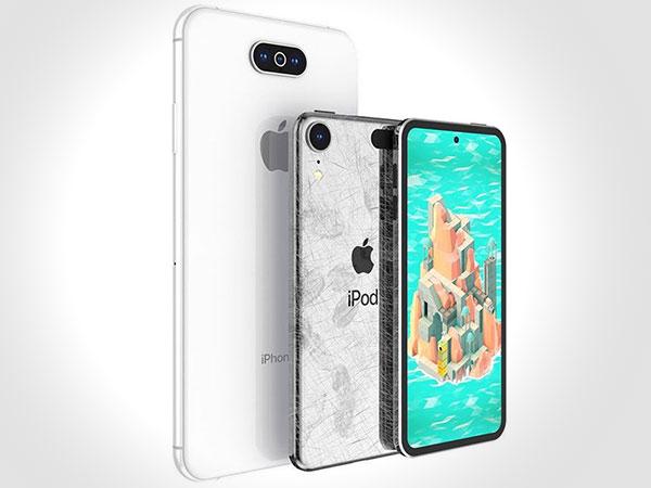concept iphone 11 xi nouveau 2019 ipod touch 1 - Apercu du Prochain iPhone 11 avec Ecran 7 Pouces (images)