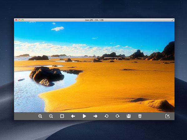 imageviewer mac macos 002 - ImageViewer Mac - Lecteur Multimedia avec Archiveur (gratuit)