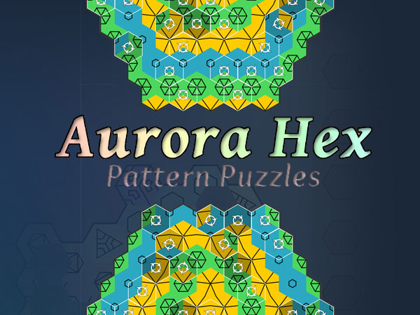 aurora hex pattern puzzles jeu iphone ipad gratuit - Aurora Hex iPhone iPad - Un Jeu Graphique et Relaxant (gratuit)