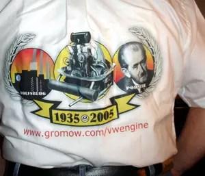 ... e também nas costas da camisa do Roncaço, com ela foi liderado o evento de São Paulo