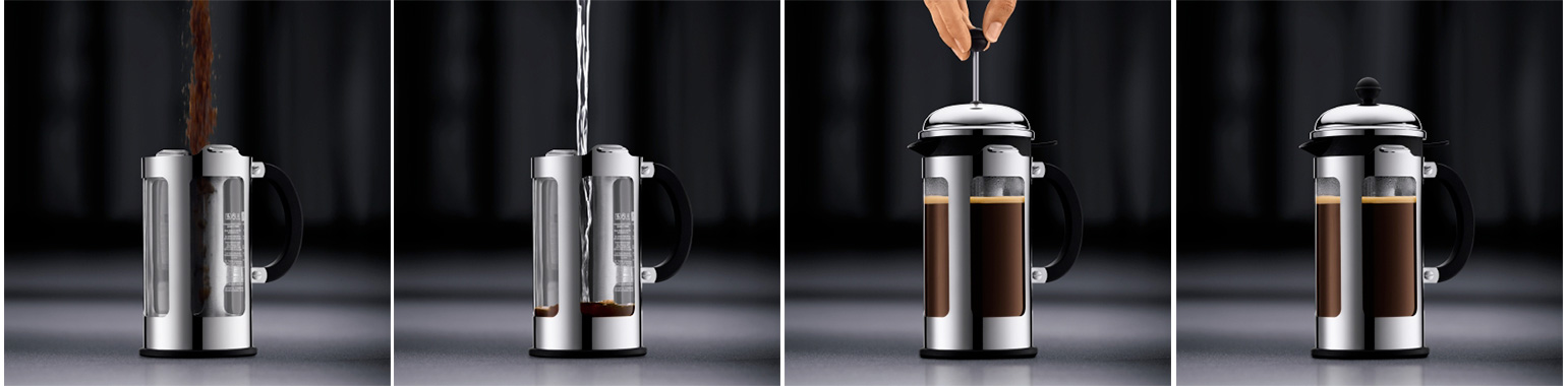 cafetiere a piston comment preparer
