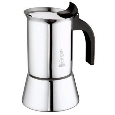 moka pot making coffee the italian way
