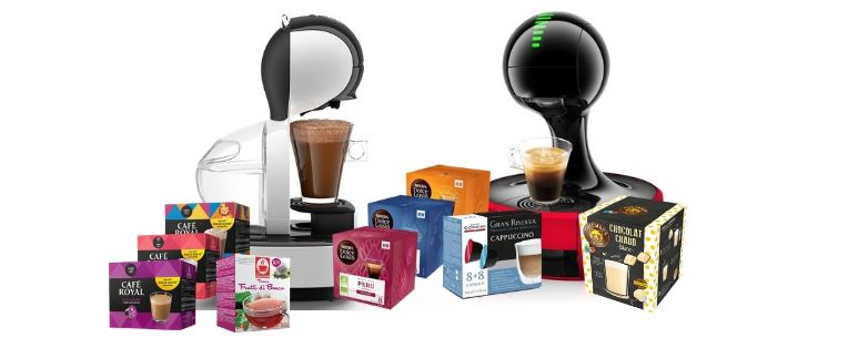 Dolce Gusto Pods By Nescafe And Compatible Options