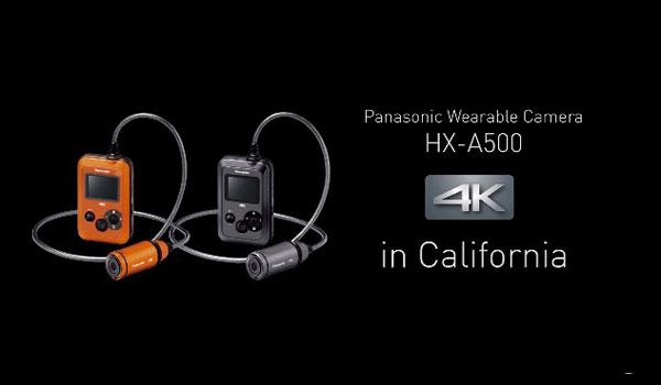 La nouvelle mini-caméra de Panasonic