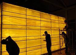 LED light panel backlight stone onyx, marble, quartzite