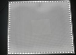 LED Light Sheet for Photo Negative Illumination