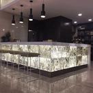 LED Backlit Counter Onyx