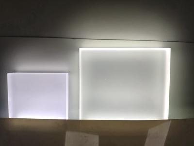 edge-lit acrylic sheet