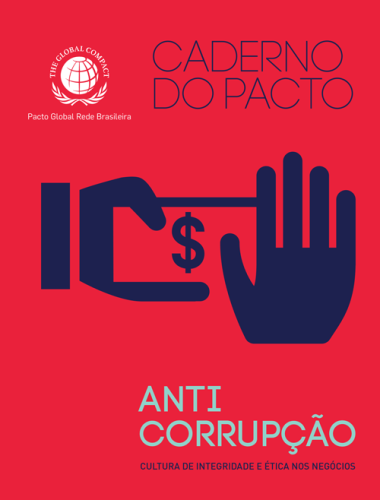 Caderno do Pacto Anticorrupção