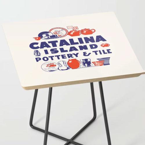 Catalina Island Pottery Tile Table