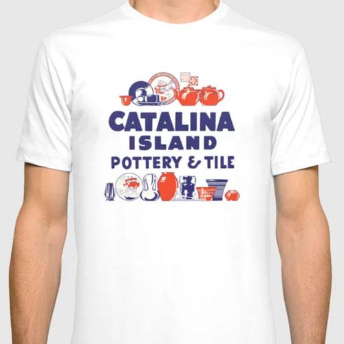 Catalina Island Pottery Tile Tee