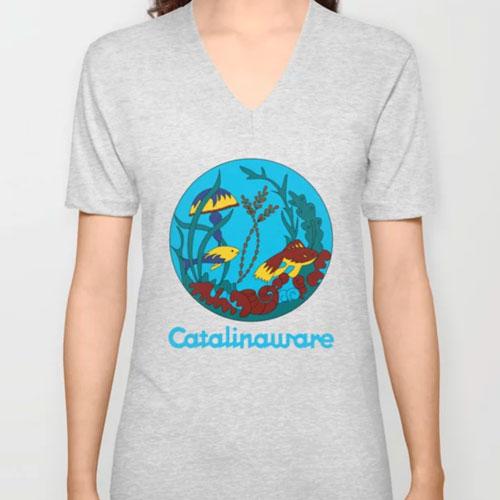 Catalina Island Undersea Tee