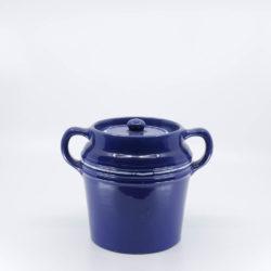 Pacific Pottery Hostessware 235 Beanpot Dec 2007 Pacblue