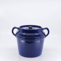 Pacific Pottery Hostessware 236 Beanpot Pacblue