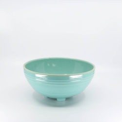 Pacific Pottery Hostessware 310 Salad Bowl Green