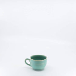 Pacific Pottery Hostessware 313 Punch Cup Green (early)