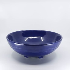 Pacific Pottery Hostessware 314 Serving Bowl Pacblue