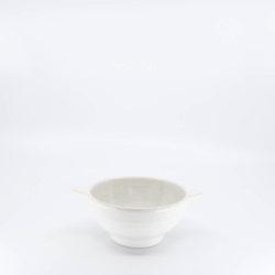 Pacific Pottery Hostessware 36A Lug Soup Bowl White