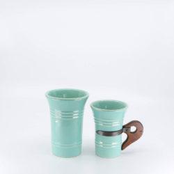 Pacific Pottery Hostessware 409-411 Tumbler Green