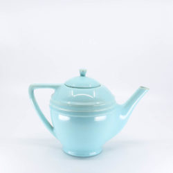 Pacific Pottery Hostessware 447 Teapot Aqua