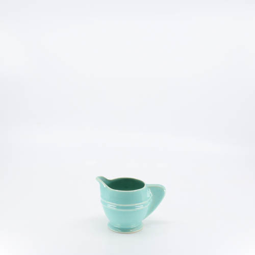 Pacific Pottery Hostessware 449 Demi Creamer Green
