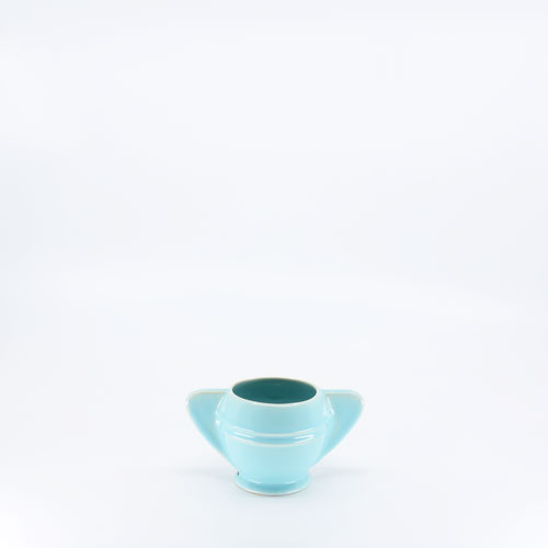 Pacific Pottery Hostessware 450 Demi Sugar Aqua