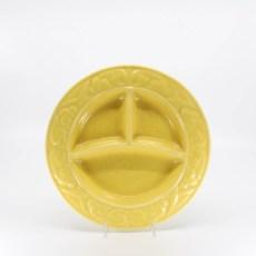 Pacific Pottery Hostessware 656 Child's Plate Yellow