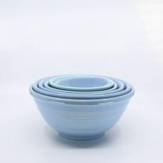 Pacific Pottery Hostessware Mixing Bowl Set Delph