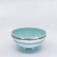 Pacific Pottery Hostessware 310 Salad Bowl Dec 2007 Aqua