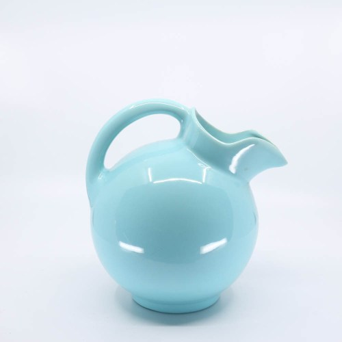 Pacific Pottery Hostessware 420 Ball Pitcher Aqua