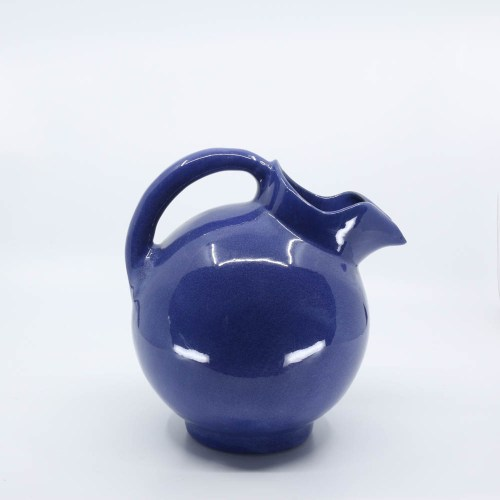 Pacific Pottery Hostessware 420 Ball Pitcher Pacblue