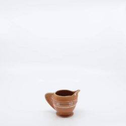 Pacific Pottery Hostessware 449 Demi Creamer Dec 2006 Apricot