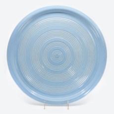 Pacific Pottery Hostessware 451 Target Platter Delph