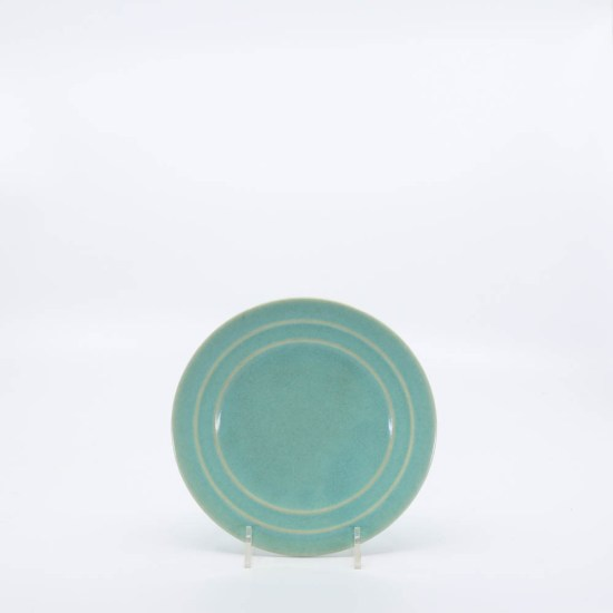 Pacific Pottery Hostessware 614 Bread Plate Green