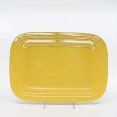 Pacific Pottery Hostessware 616 Rectangular Tray Med Yellow