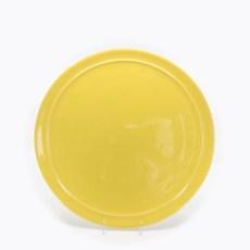 Pacific Pottery Hostessware 619 13 Cake Plate Yellow