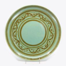 Pacific Pottery Hostessware 624 Low Bowl Dec Green