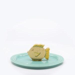 Pacific Pottery Hostessware 646 Pick Set Green