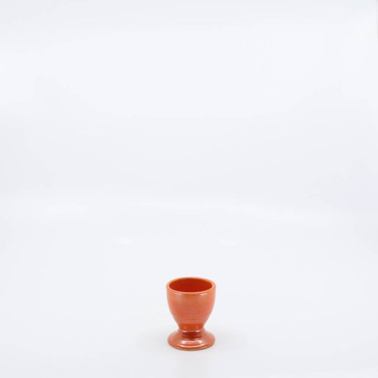 Pacific Pottery Hostessware Unknown Eggcup Red