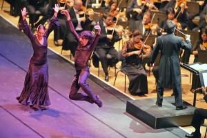 Septembre 2009: Flamenco à l'auditorium de Lyon.
