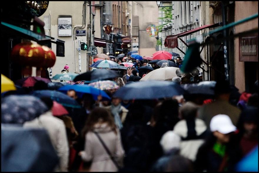 L'homme sans parapluie