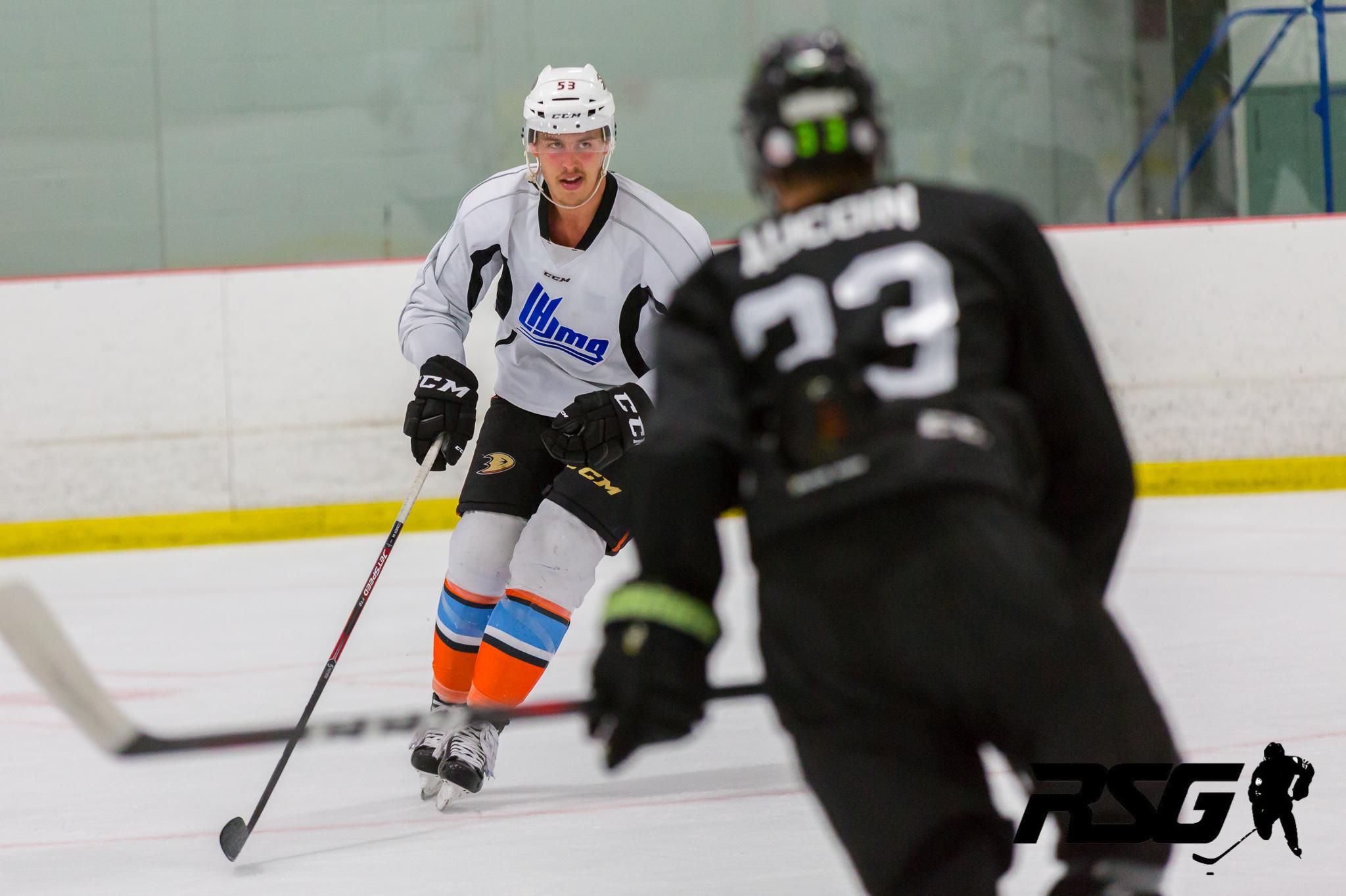 Maxime Comtois, Anaheim Ducks