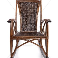 Vintage Wicker Rocking Chair Compact Desk Photo Of Antique Stock Image Mxi24487 Bamboo Isolated On White Background
